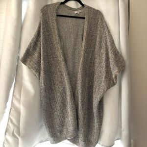 Knit cape from Aritzia